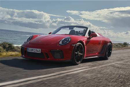 Porsche 911 Speedster image gallery
