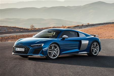 2019 Audi R8 Coupe facelift image gallery