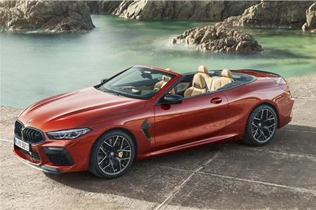 BMW M8 Competition Convertible image gallery