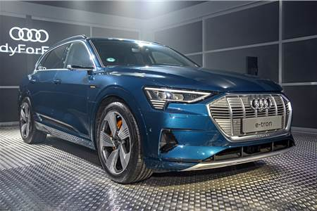 2019 Audi e-tron India image gallery