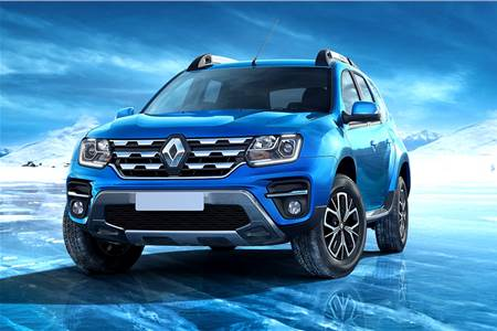 2019 Renault Duster facelift image gallery