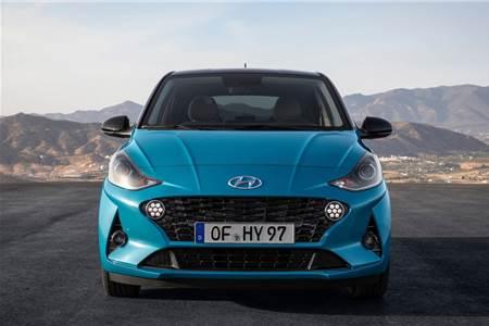 2020 Hyundai i10 Euro-spec image gallery