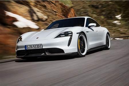2020 Porsche Taycan image gallery