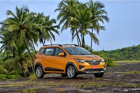 2019 Renault Triber image gallery