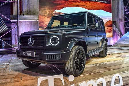 Mercedes-Benz G 350d image gallery