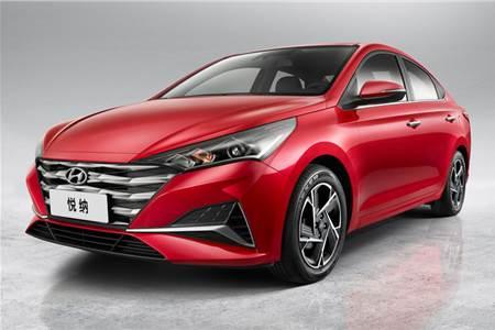 2020 Hyundai Verna facelift image gallery