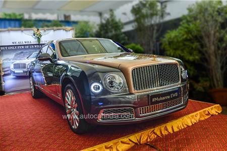 Bentley Mulsanne EWB India image gallery