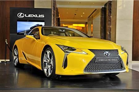 Lexus LC500h image gallery