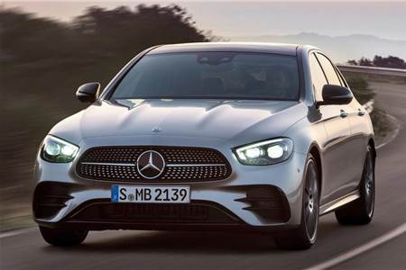 2020 Mercedes-Benz E-class facelift image gallery