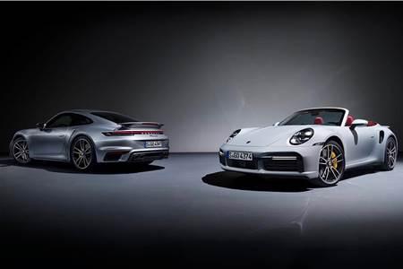 2020 Porsche 911 Turbo S image gallery