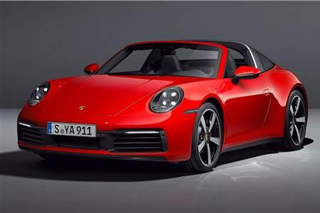 2021 Porsche 911 Targa image gallery
