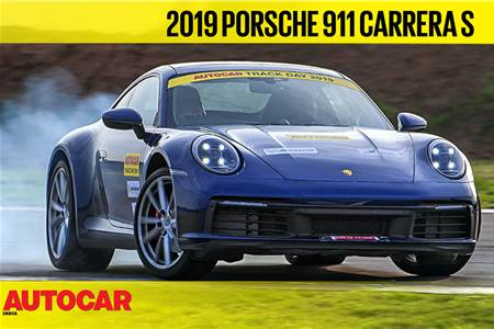 HOT LAP: Porsche 911 Carrera S Autocar India Track Day 2019 video