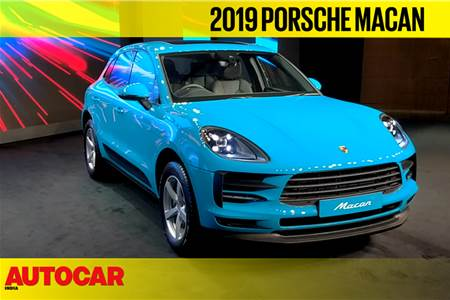 Porsche Macan facelift first look video