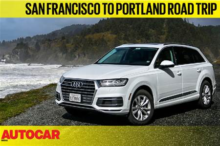 Road Trip on the Northern California Coast in an Audi Q7 video