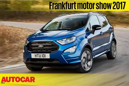 2017 Ford EcoSport walkaround video