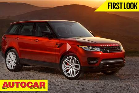 New 2013 Range Rover Sport video review