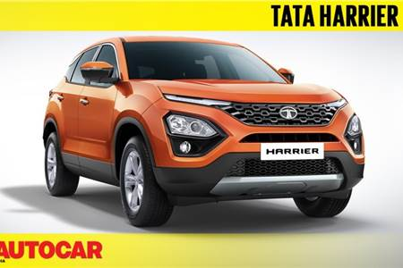 Tata Harrier first look video