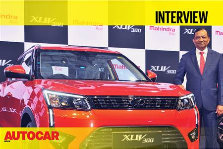 Dr. Pawan Goenka interview at Mahindra XUV300 launch video