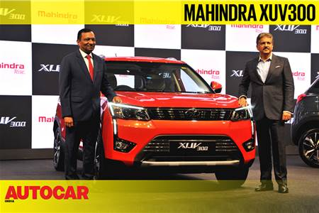 Mahindra XUV300 launch and price details video