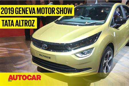 Tata Altroz first look video