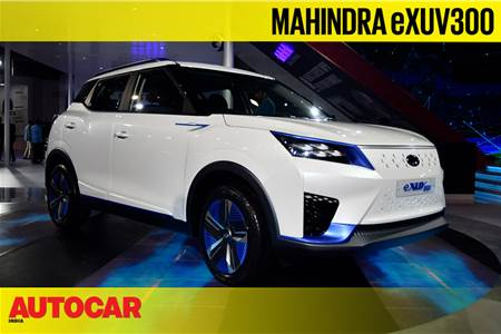 Mahindra eXUV300 first look video