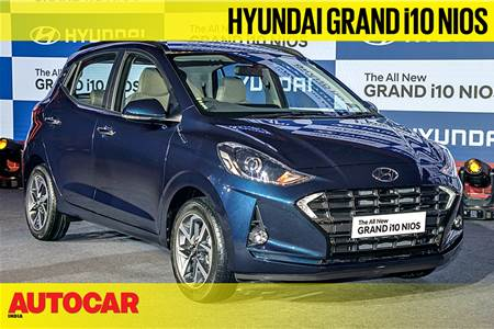 2019 Hyundai Grand i10 Nios walkaround video
