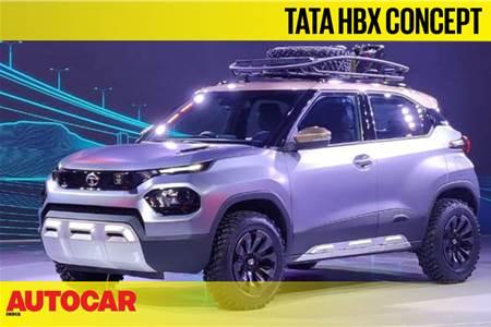 Tata HBX concept first look video