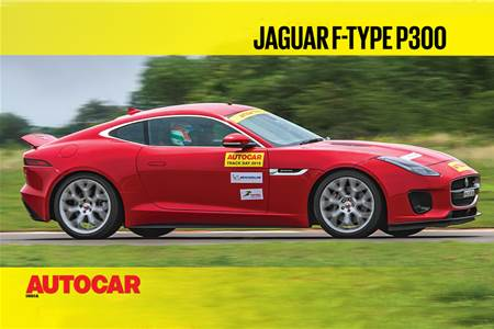 HOT LAP: Jaguar F-Type P300 Autocar India Track Day 2019 video