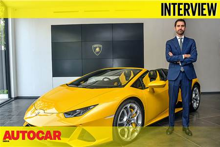 Matteo Ortenzi - CEO, Lamborghini Asia-Pacific region, interview video
