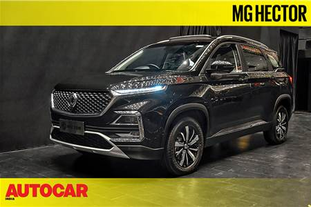 2019 MG Hector first look video