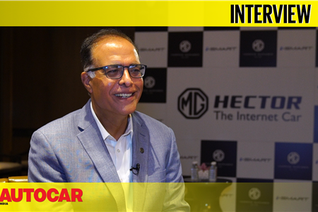 Rajeev Chaba - President & MD, MG Motor India interview video
