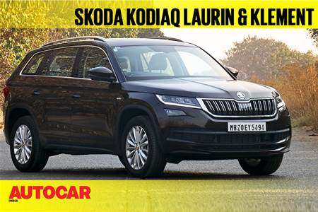 Skoda Kodiaq Laurin & Klement first look video