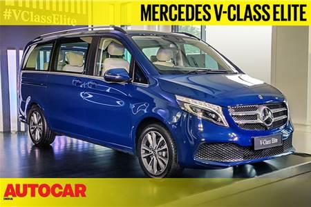 Mercedes-Benz V-Class Elite first look video