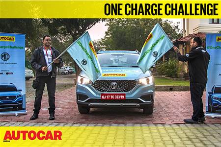 Going the distance: MG ZS EV #OneChargeChallenge video