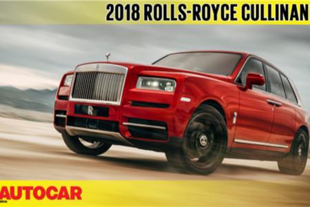 Rolls-Royce Cullinan first look video