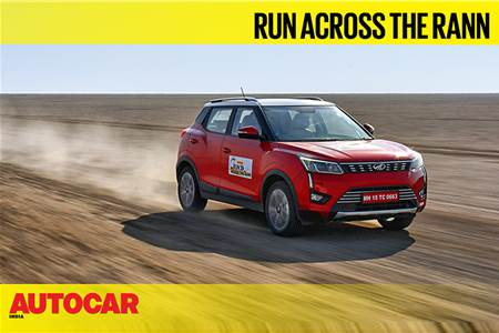 Run Across the Rann: Setting a new record in the Mahindra XUV300 video