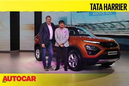 Tata Harrier launch video