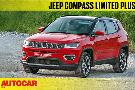2018 Jeep Compass Limited Plus first look video