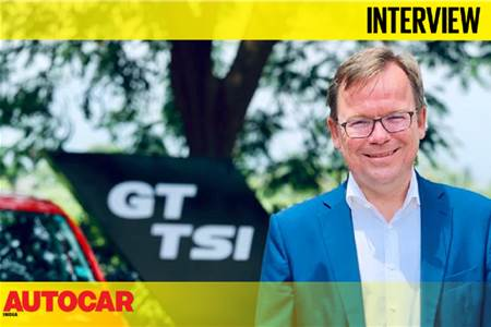 Steffen Knapp, Director, Volkswagen India interview video