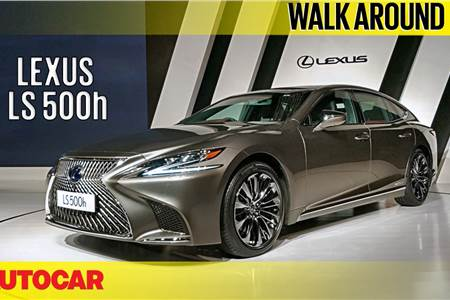2018 Lexus LS 500h walkaround video