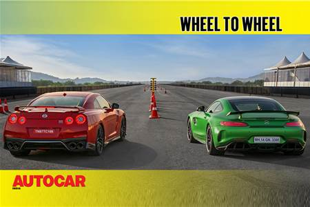 Drag Race: Mercedes-AMG GT R vs Nissan GT-R