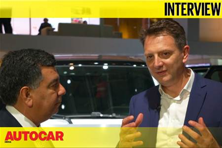 Nick Rogers, Executive Director - Product Engineering, Jaguar Land Rover interview video