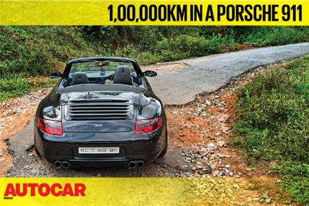 100,000km in a Porsche 911 feature video