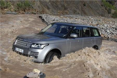 New 2013 Range Rover video review