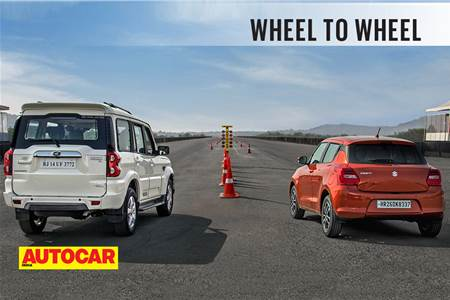 Drag Race: Mahindra Scorpio vs Maruti Suzuki Swift