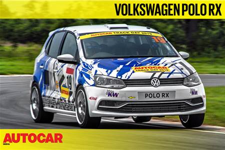 HOT LAP: VW Polo RX Autocar India Track Day 2019 video