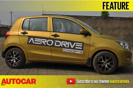 Taken for a drive in a self-driving Celerio video