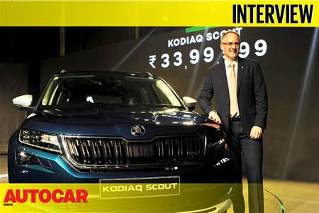 Zac Hollis, Skoda Auto India interview video