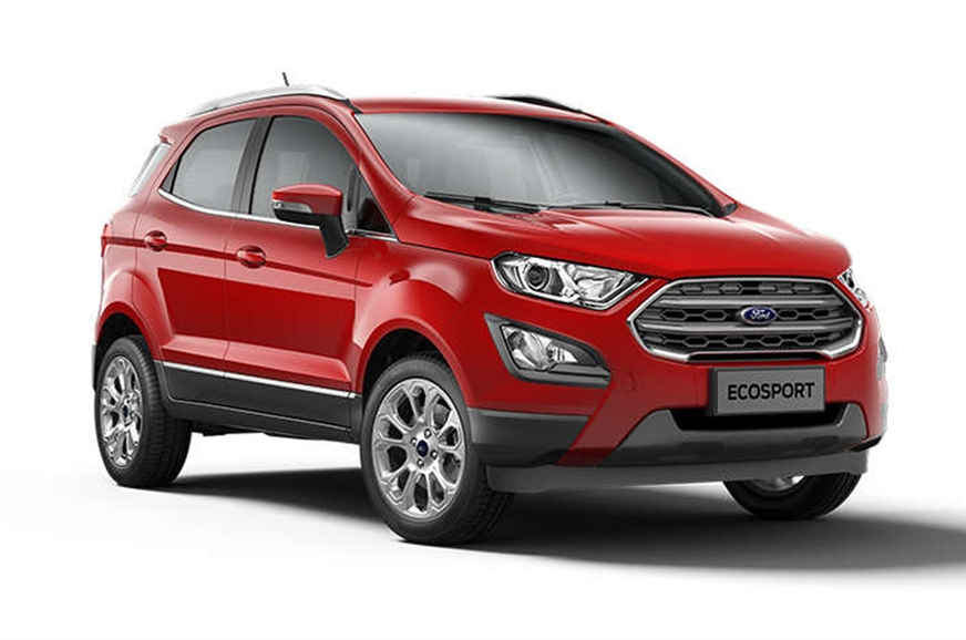 ford ecosport facelift price variants engine details equipment features and more autocar india. Black Bedroom Furniture Sets. Home Design Ideas