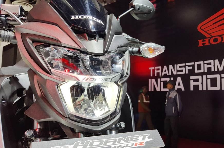 Auto Expo 2018: Honda CB Hornet 160R ABS unveiled ...
